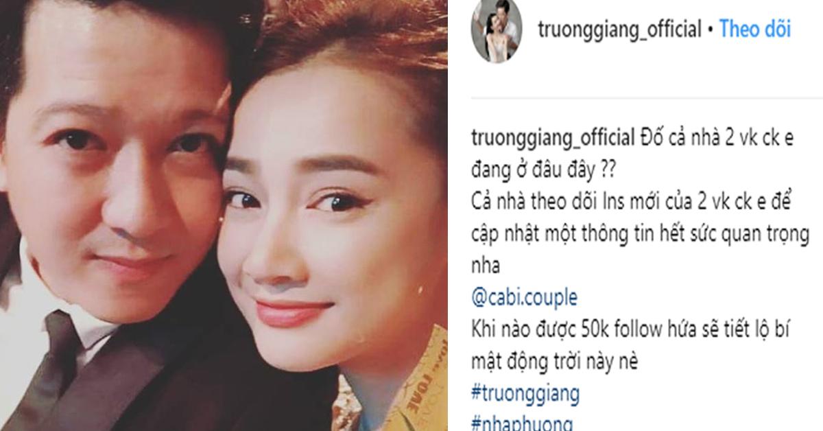 """Trường Giang đưa vợ bầu Nhã Phương sang Mỹ, hứa tiết lộ bí mật """"động trời"""" - 1"""