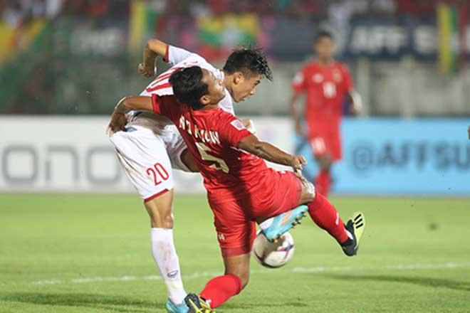 Myanmar - Việt Nam: Ăn miếng trả miếng, tiếc nuối mất bàn thắng (AFF Cup) - 1