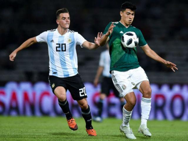 Nhận định bóng đá Argentina - Mexico: Không cần Messi vẫn hiên ngang giật cúp
