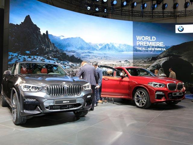 BMW X4 2019 sắp được THACO bán tại Việt Nam vào đầu năm 2019