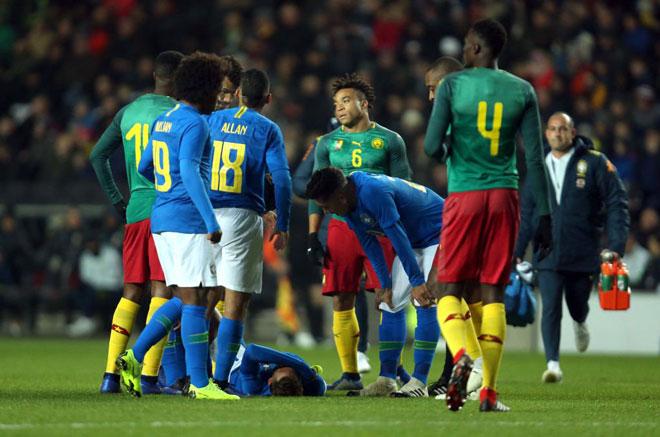 Brazil - Cameroon: Vận đen Neymar, SAO 50 triệu bảng rực sáng - 1