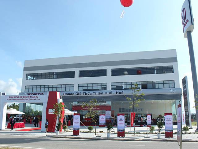 Honda Việt Nam tiếp tục khai trương Đại lý ôtô thứ 10 tại miền Trung
