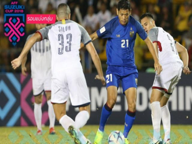 Philippines - Thái Lan: Vỡ òa bàn thắng phút 81 (AFF Cup)