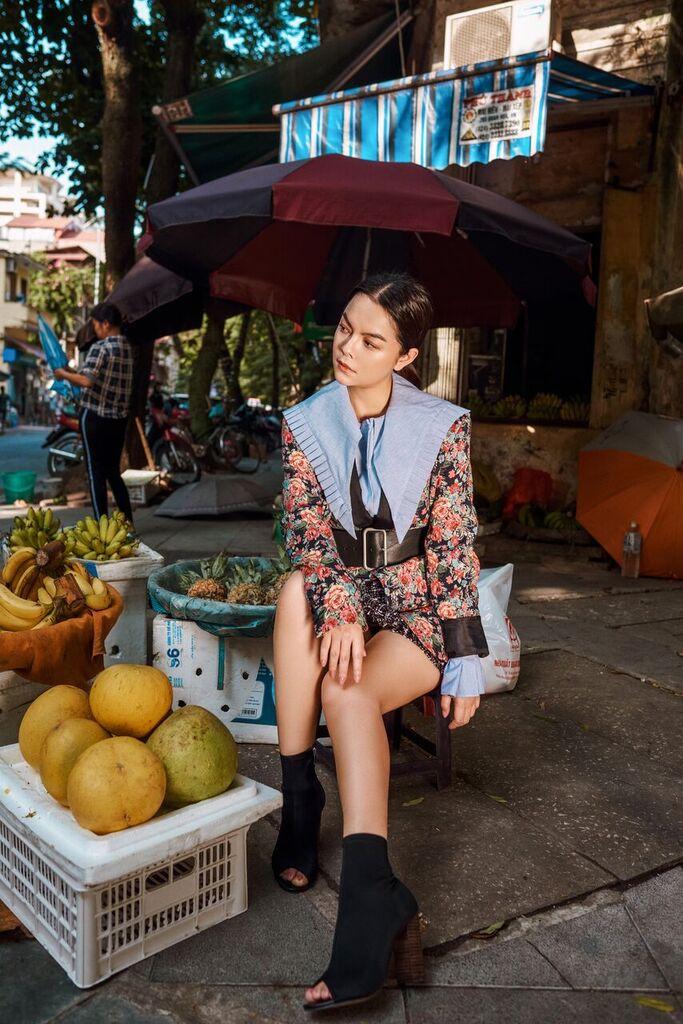 Sau đổ vỡ hôn nhân, Phạm Quỳnh Anh đổi mới với style trẻ trung - 1