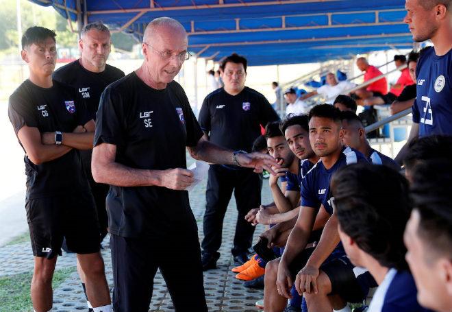 """Siêu HLV Eriksson """"giấu bài"""": Philippines đáng sợ hơn Việt Nam, Thái Lan? - 1"""
