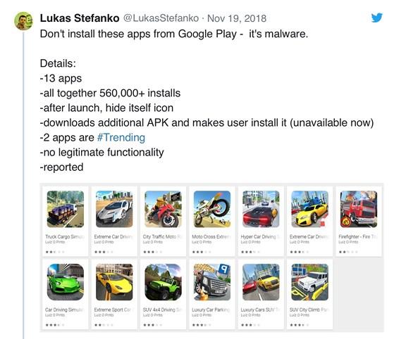 Hơn nửa triệu người dùng dính phần mềm độc hại trên Google Play - 1