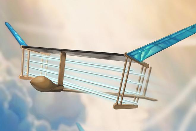 Máy bay chạy bằng ion bay được mà không có bộ phận chuyển động - 1