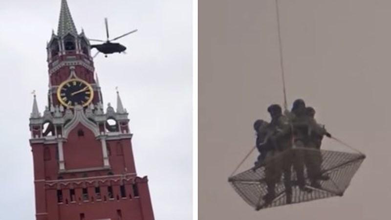 Nga nói gì vụ 2 trực thăng bay gần điện Kremlin? - 1