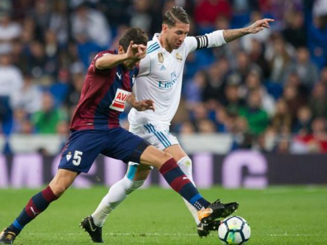 Trực tiếp Eibar - Real Madrid: Isco bị đẩy lên ghế dự bị