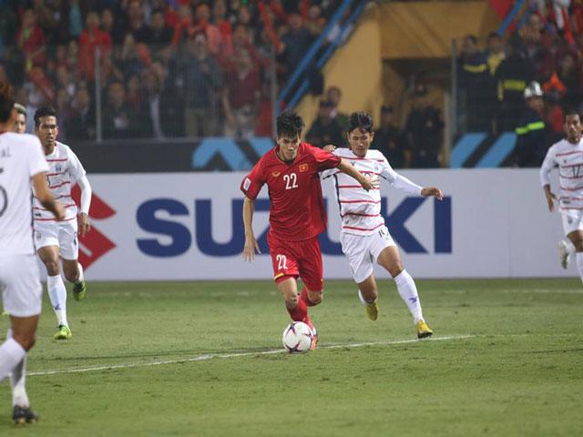 Trực tiếp Việt Nam - Campuchia: Dồn ép liên tục (AFF Cup)