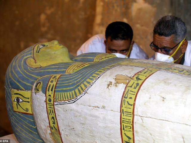 """Phát hiện xác ướp Ai Cập 3.000 năm tuổi còn nguyên vẹn """"một cách hoàn hảo"""""""