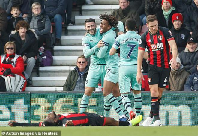 Bournemouth - Arsenal: Siêu sao bùng nổ tung đòn kết liễu - 1