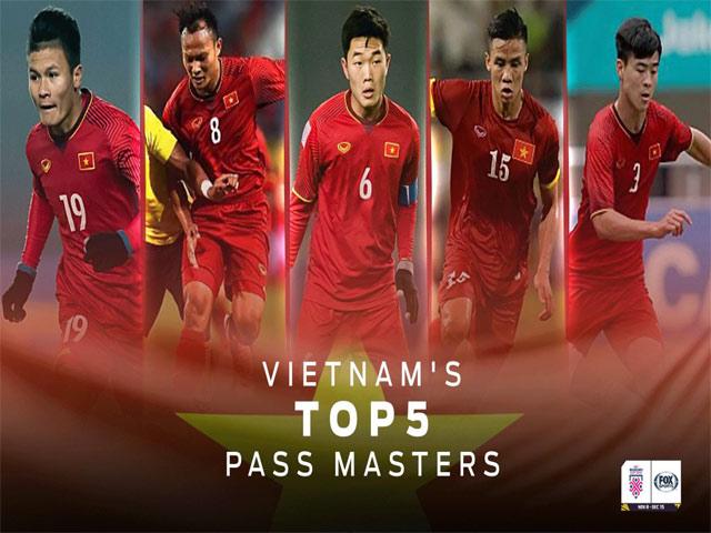 Báo châu Á gọi tên ngôi sao số 1 ĐT Việt Nam: Quang Hải chuyền tuyệt đỉnh
