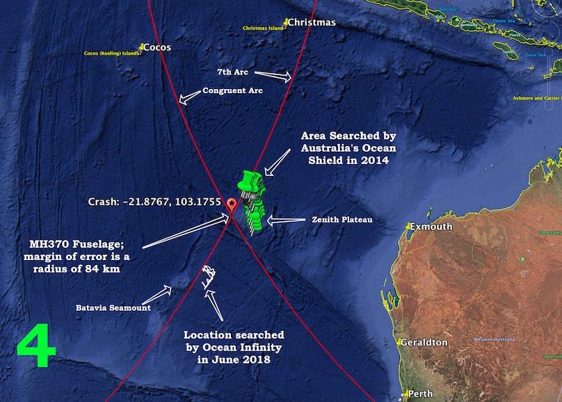 Tính toán chính xác vị trí của máy bay MH370 ở Ấn Độ Dương? - 1