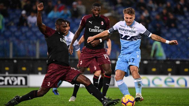 Lazio - AC Milan: Hú vía màn thoát hiểm phút 94 - 1