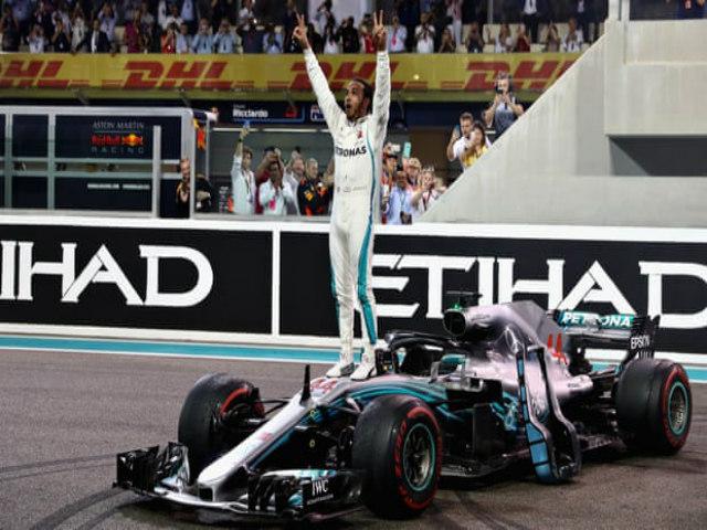 """Video & xếp hạng đua xe F1, Abu Dhabi GP: Uy lực """"Vua"""" Hamilton thống trị tuyệt đối"""
