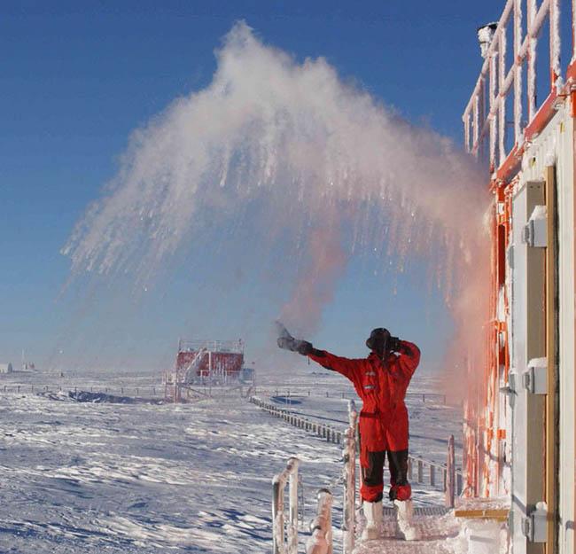 Nơi lạnh đến mức vi khuẩn cũng không thể tồn tại thì việc nấu ăn sẽ như thế nào - 1