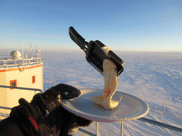 Nơi lạnh đến mức vi khuẩn cũng không thể tồn tại thì việc nấu ăn sẽ như thế nào