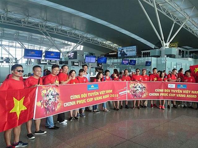 Bố trí máy bay riêng đưa người hâm mộ sang Philippines cổ vũ đội tuyển Việt Nam