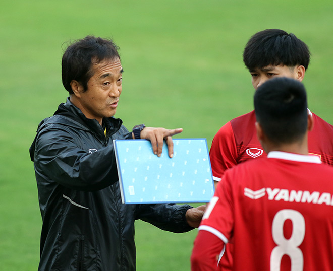 Coach Hang Seo distributed it to a German-speaking German expert