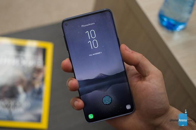 Samsung đã bắt đầu sản xuất màn hình cho Galaxy S10 và Galaxy A8s - 1