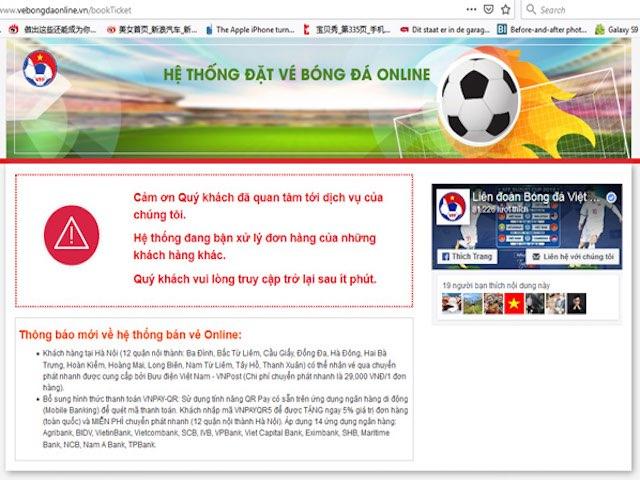 """AFF Cup 2018: Vé bóng đá trận Việt Nam - Philippines """"hot"""" Google ngày 28/11"""