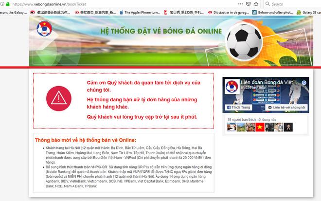 """AFF Cup 2018: Vé bóng đá trận Việt Nam - Philippines """"hot"""" Google ngày 28/11 - 1"""