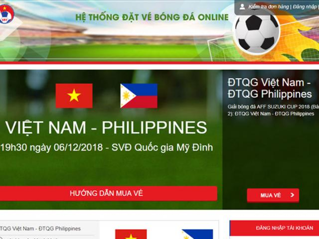 VFF announced AFF Cup 2018 and continues to sell online