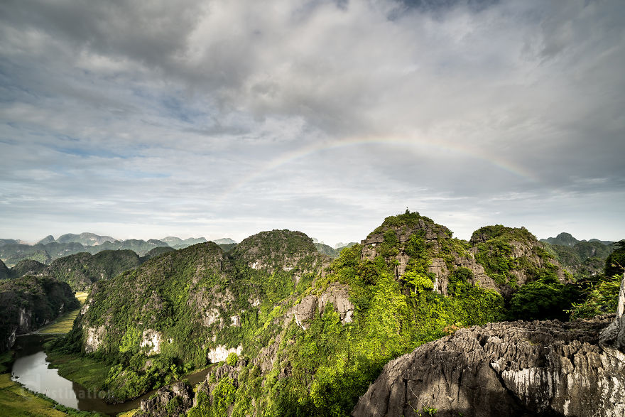 Tam Coc is beautiful in the eyes of foreign tourists - 1