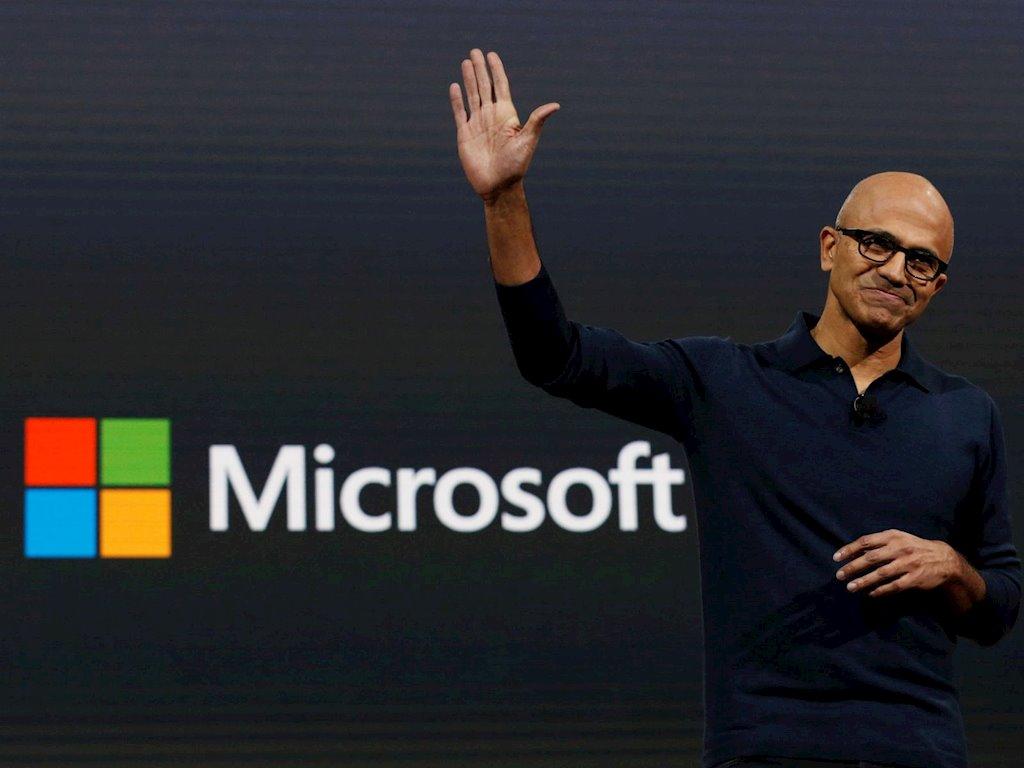 Apple sảy chân, Microsoft trở thành công ty giá trị nhất thế giới - 1