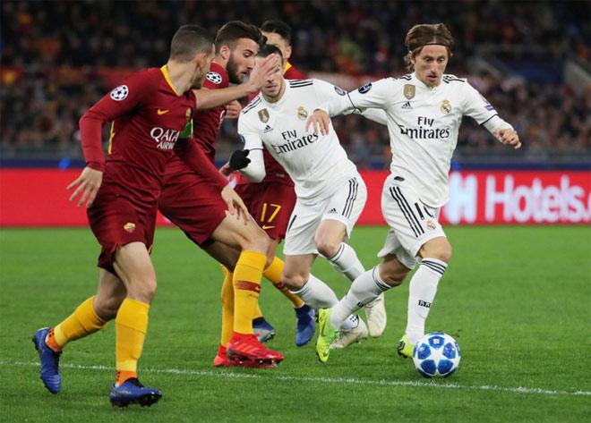 AS Roma - Real Madrid: Ngôi sao mở khóa thế trận đôi công - 1