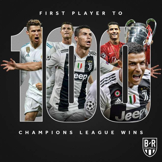 """""""Siêu nhân"""" Ronaldo bùng nổ săn kỷ lục 100: Xứng danh """"Vua"""" châu Âu - 1"""