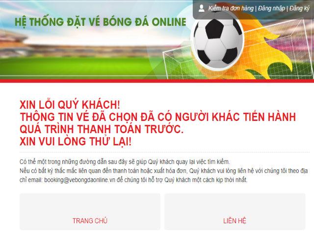 """Dòng chữ nào khiến fan """"điên tiết"""" vì mua vé Việt Nam đấu Philippines?"""