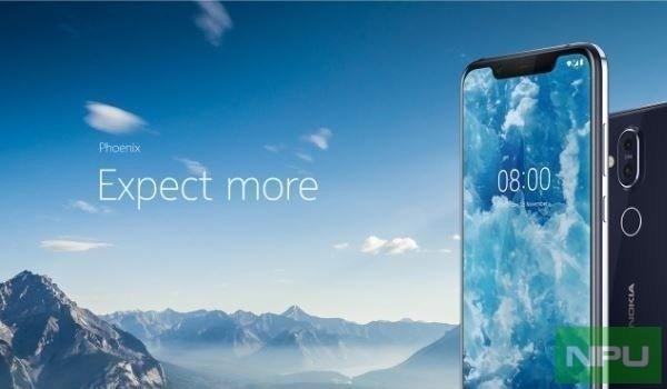 Nokia 8.1 đẹp xuất sắc bất ngờ xuất hiện, iPhone XS đã là gì