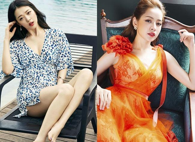 Sự lột xác gợi cảm dần đều của Chi Pu khiến người ta liên tưởng đến cô nàng Sulli quyến rũ của Hàn Quốc.