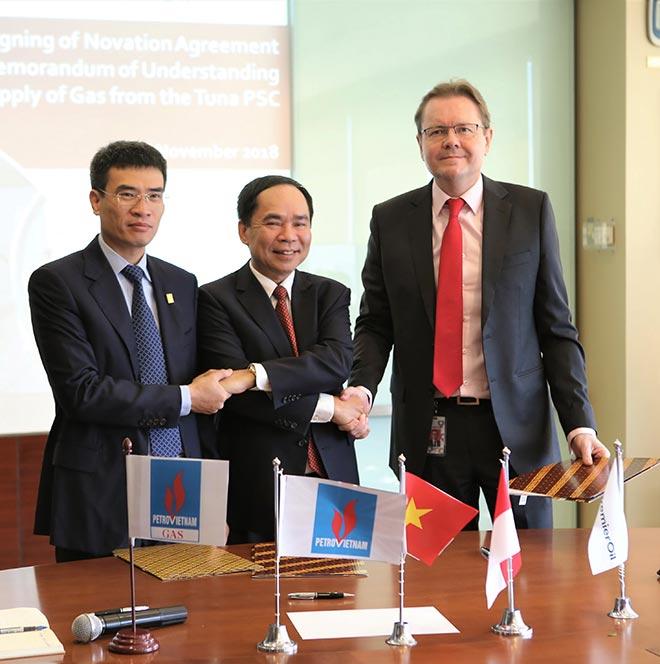 PVN – PV GAS ký thỏa thuận về việc cung cấp khí từ mỏ Tuna - 1