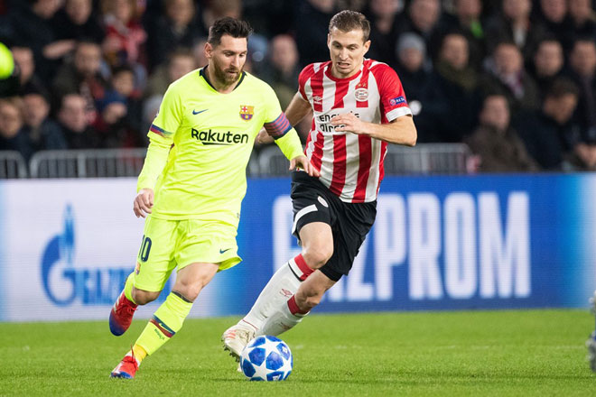 PSV - Barcelona: danger lurks, genius Messi out of hand - 1