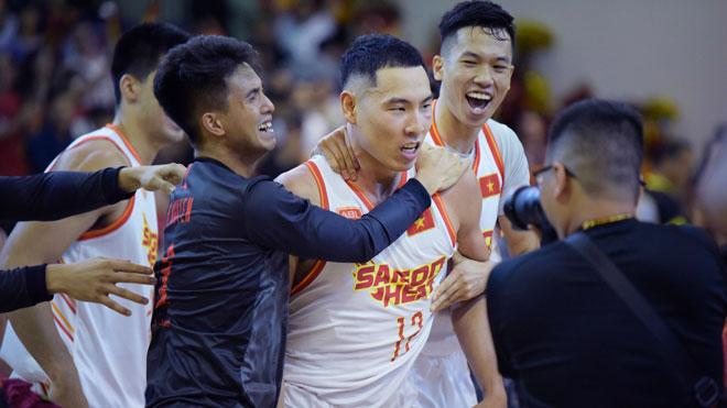 Mãn nhãn bóng rổ: Sài Gòn Heat đè bẹp đối thủ ngay trên đất khách - 1