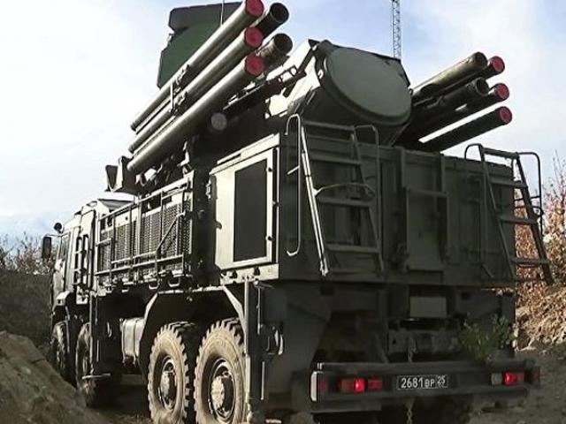 Sau S-400, Nga tăng cường 'mãnh thú' Pantsir-S trực chiến ở Crimea