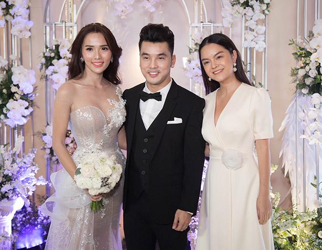 Dàn sao Việt đổ bộ tiệc cưới Ưng Hoàng Phúc và Kim Cương - 1