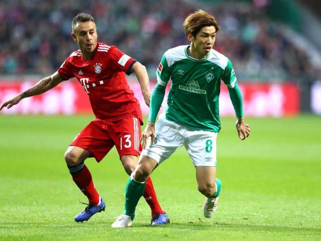 Video, kết quả bóng đá Bremen - Bayern Munich: Cú đúp định đoạt, thẻ đỏ tuyệt vọng