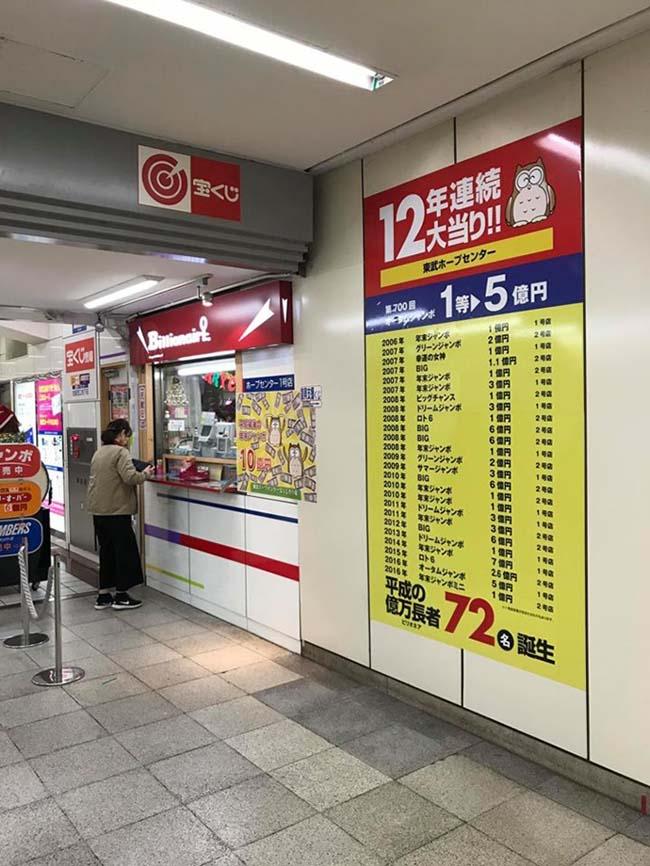 Kỳ diệu cửa hàng bán vé số mỗi năm lại 'sản sinh' ra một triệu phú đô la tại Nhật Bản - 1