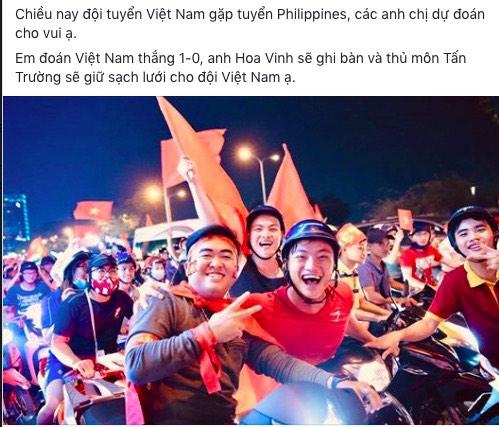 Sắc đỏ ngập tràn Facebook, dân mạng tin Việt Nam sẽ thắng Philippines - 1