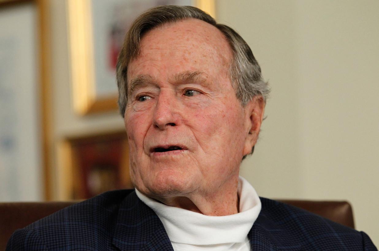 """Tiết lộ lời nói cuối cùng của cựu tổng thống Mỹ Bush """"cha"""" - 1"""