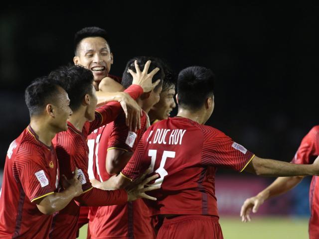 ĐT Việt Nam vỡ òa: Văn Hậu kiến tạo như Bale, Anh Đức đẳng cấp ghi bàn