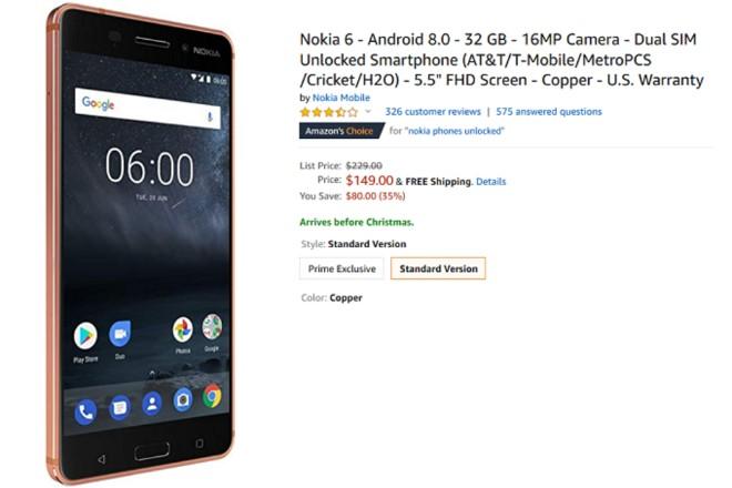 Nokia 6 (2017) đang được bán với giá chỉ 3,49 triệu đồng - 1