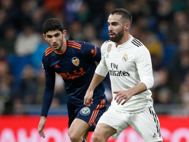 """Real Madrid - Valencia: """"Tội đồ"""" phản lưới khơi màn thảm họa"""