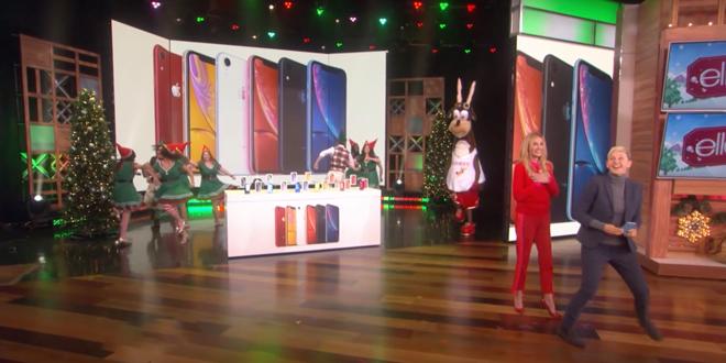 """Apple tặng iPhone Xr miễn phí cho khán giả tại """"The Ellen Show"""" - 1"""