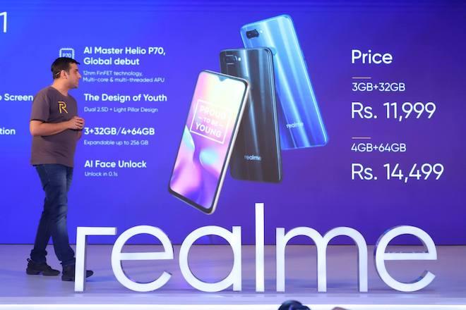 Realme U1 là smartphone đầu tiên trên thế giới dùng chip Helio P70 - 1