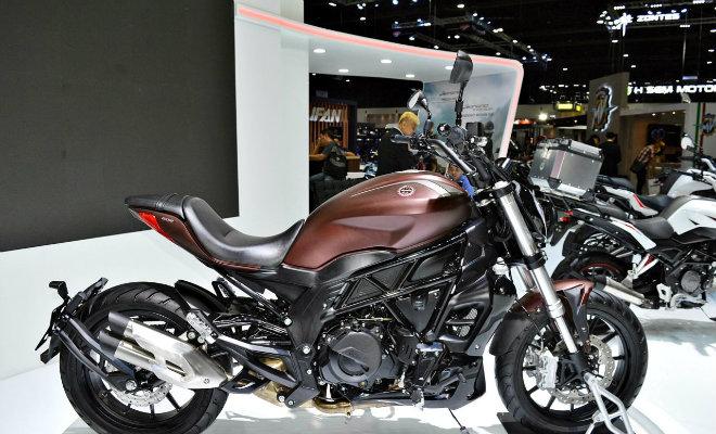 "Benelli 502S Cruiser lộ diện, cảm hứng từ ""siêu quỷ"" Ducati Diavel - 1"